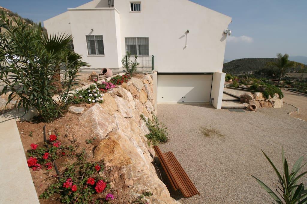 casa chalet con piscina vacaciones rural mazarron murcia