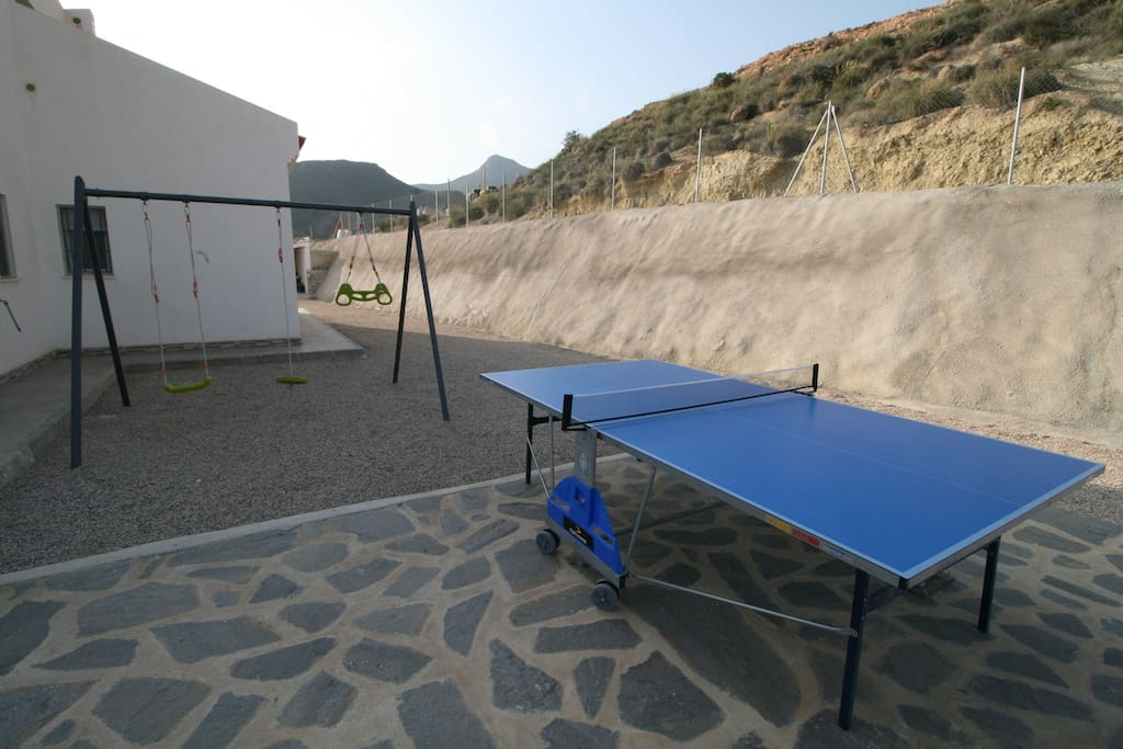 casa chalet con piscina vacaciones rural mazarron murcia - zona infantil