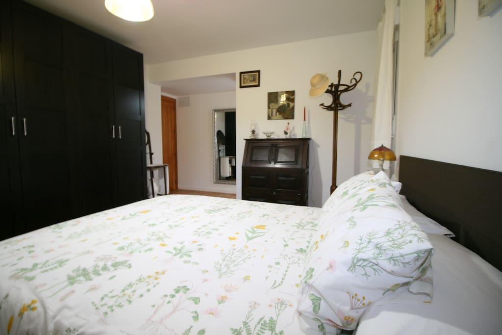 dormitorio en suite - casa chalet con piscina vacaciones rural mazarron