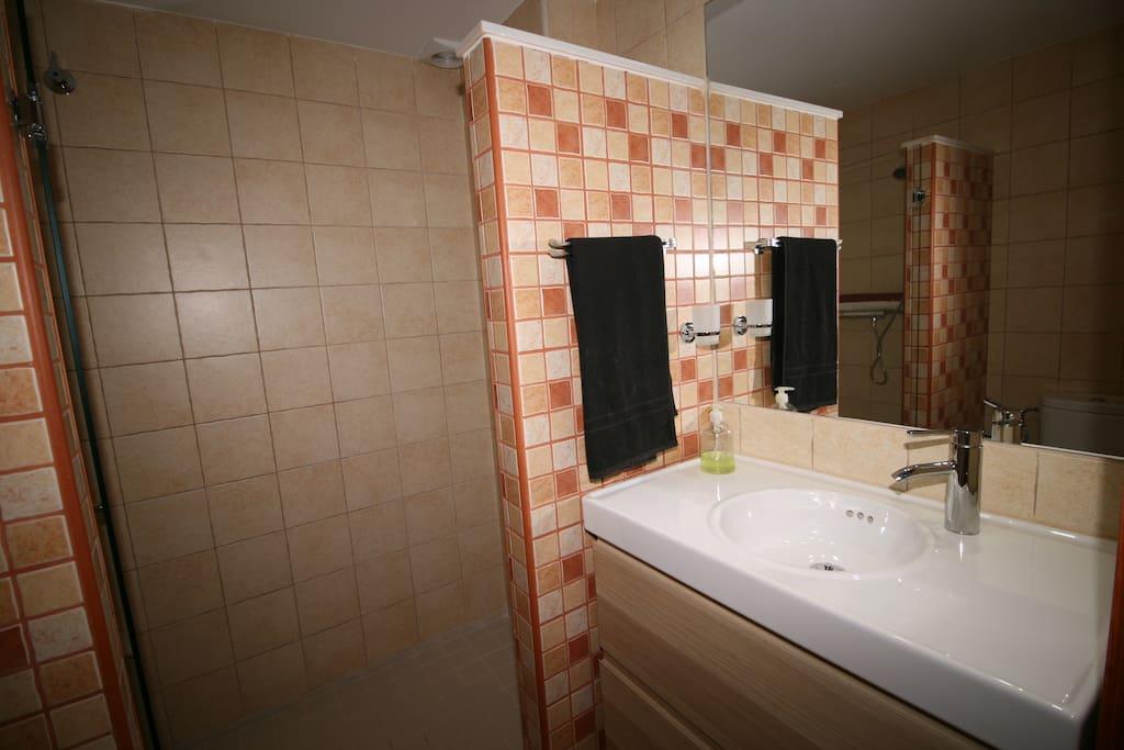baños suite - casa con piscina vacaciones rural mazarron